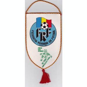 Fanion fotbal - ROMANIA (FRF) la Campionatul Mondial Italia 1990