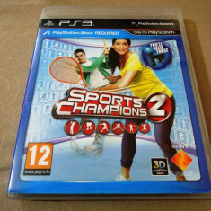 Joc Move Sports Champions 2, PS3, original! Alte sute de jocuri! - Jocuri PS3 Sony, Sporturi, 12+, Multiplayer