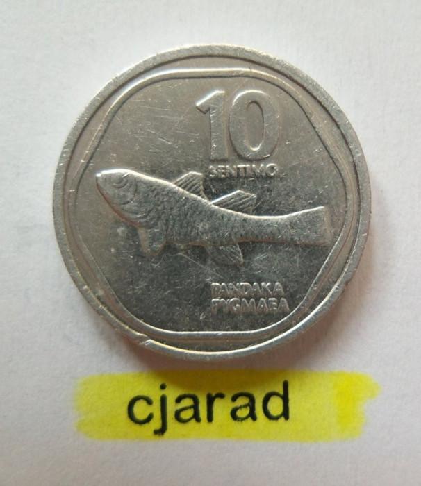 Moneda 10 Sentimo - Filipine 1988  (*cod 717) Allu-a.UNC foto mare