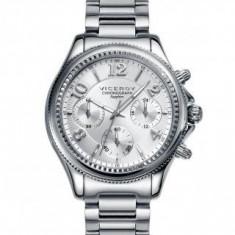 Ceas Viceroy dama cod 47892-85 (colectie Penelope Cruz) - pret 1329 lei - Ceas dama Viceroy, Fashion, Quartz, Inox, Cronograf