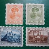 Luxemburg 1925 20 Euro ducesa Charlotte - serie nestampilata MNH
