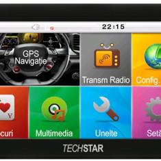 GPS Techstar Basic NAVIGATIE Auto TaxiTir Camion 4.3