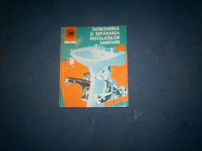 GHEORGHE MURESANU - INTRETINEREA SI REPARAREA INSTALATIILOR SANITARE