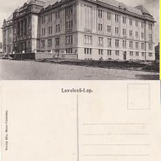 Targu Mures- Liceul - Carte Postala Transilvania 1904-1918, Necirculata, Printata
