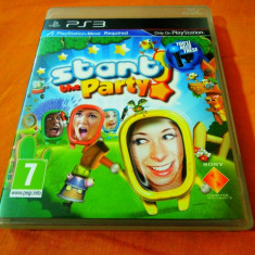 Joc Move Start the Party, PS3, original, alte sute de jocuri! - Jocuri PS3 Sony, Actiune, 3+, Multiplayer