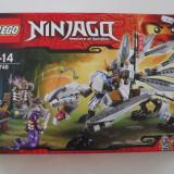 Vand Lego Ninjago 70748 Titanium Dragon original, nou impecabil sigilat 360piese