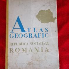 ATLAS GEOGRAFIC ANUL 1965