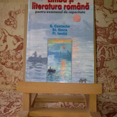 "G. Costache - Limba si literatura romana pt. examenul de capacitate 2002 ""A2225"""