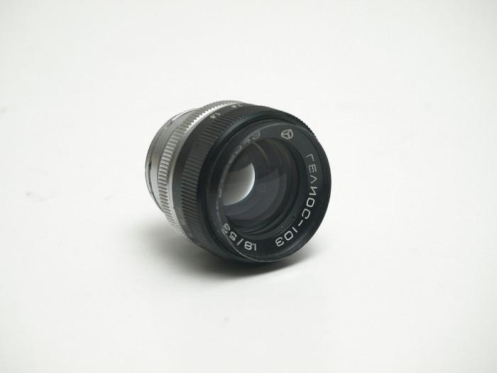 Obiectiv Helios 103 -- 53mm f1.8 foto mare