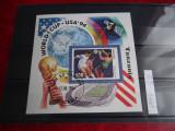 Colita Tanzania-Cupa mondiala SUA 1994-Colita stampilata 1994, Stampilat