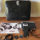 Camera video vintage canon super 8 auto zoom 518