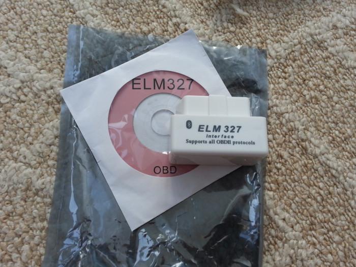 Interfata Diagnoza White Super Mini Universala Elm327 Bluetooth OBDII OBD2 V1.5