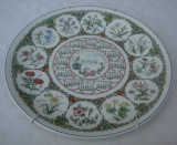 Impresionanta farfurie din portelan englezesc WEDGWOOD The Cottage Garden, Farfurii