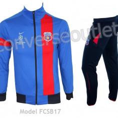 Trening NIKE - FC STEAUA BUCURESTI - Bluza si pantaloni conici - Pret special - - Trening barbati, Marime: S, Culoare: Bleu