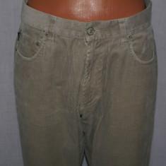 Pantaloni barbati POLO by RALPH LAUREN autentici reiati marimea W32 camel, Lungi, Bumbac