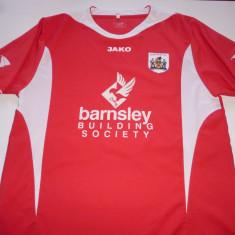 Tricou fotbal BARNSLEY FC (Anglia) - Tricou echipa fotbal, Marime: L, Culoare: Rosu, De club, Barcelona, Maneca scurta