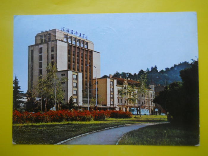 HOPCT 15796  BRASOV  HOTEL CARPATI - JUD BRASOV [ CIRCULATA ]