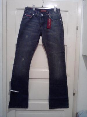 Blugi noi, Denim Blei Jeans, marimi 27, 28, 29 foto