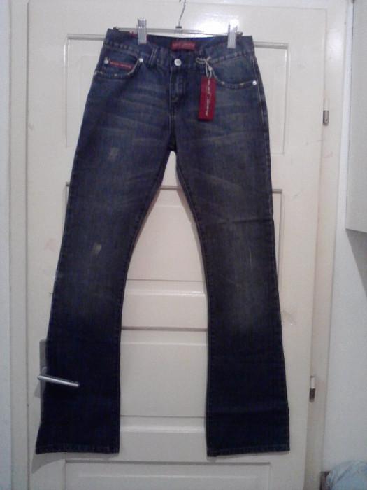 Blugi noi, Denim Blei Jeans, marimi 27, 28, 29