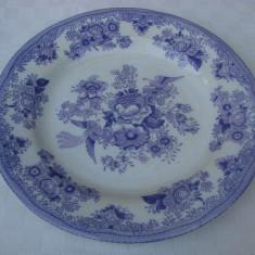 Frumoasa farfurie pentru supa din portelan suedez Gustafsbrerg 1911, Farfurii