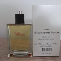 Tester HERMES TERRE DHERMES D'HERMES MADE IN FRANCE - Parfum barbati Hermes, Apa de toaleta, 100 ml