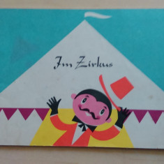 Im zirkus - carte de colorat