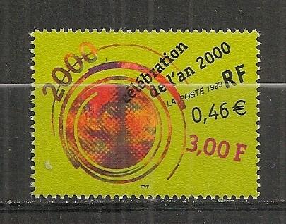 Franta.1999 Celebrarea anului 2000  SF.929 foto mare