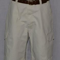 Pantaloni scurti cargo DOCKERS marimea W33 culoarea bej - Bermude barbati Dockers, Bumbac