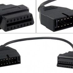 Cablu adaptor ALDL Matiz Cielo GM / Daewoo 12 pini-OBD2 diagnoza