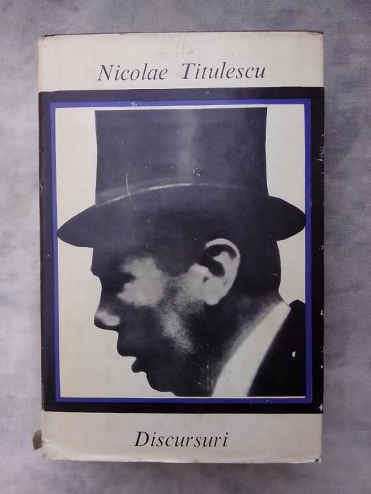 Discursuri  - Nicolae Titulescu foto mare