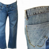 Blugi dama - bootcut - eleganti FARMS KIM W 26, 27, 28, 30 (Art.206-210), Culoare: Albastru, Drepti, Lungi, Joasa