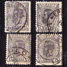 Timbre ROMANIA 1900 = CAROL I -