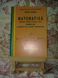 "Mircea Ganga - Matematica man pt cls a XII a Elem de anal mate ""A2263"", Clasa 12"
