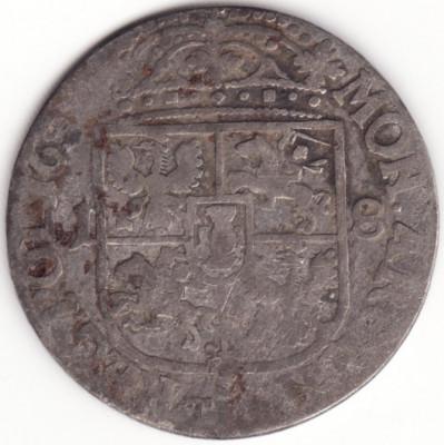 Regatul Poloniei si Marele Ducat al Lituaniei - 18 Groszy 165X - Argint foto