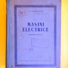 MASINI ELECTRICE L Piotrovschi - Carti Electrotehnica