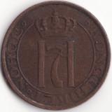 Regatul Norvegiei - 2 Ore 1929 - An rar, Europa
