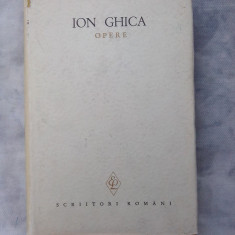 Opere vol. I - Ion Ghica - Carte veche