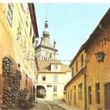 CPI (B5504) SIGHISOARA (5991) - Carte Postala Transilvania dupa 1918, Necirculata, Fotografie