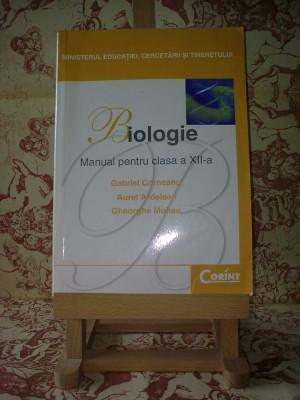 """Gabriel Corneanu - Biologie manual pentru clasa a XII a """"A2258"""" foto"""