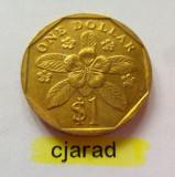 Moneda 1 Dollar - Singapore 1997 (*cod 742) UNC