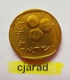 Moneda 5 Agorot - ISRAEL *cod 724  a.UNC, Asia