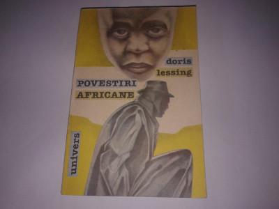 DORIS LESSING - POVESTIRI AFRICANE foto