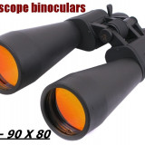 BINOCLU SAKURA. Cu zoom optic 10 - 90 x 60. Excelent. - Binoclu vanatoare