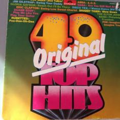 40 TOP HITS -2LP -cu:ABBA, E.CLAPTON ..etc..(1975/POLYDOR REC/ RFG )- VINIL/VINYL - Muzica Rock universal records