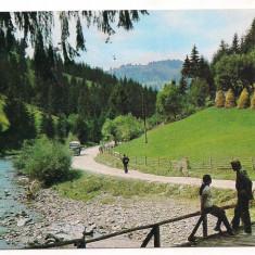 % carte postala-TURDA-Valea Ariesului-jud Cluj, Circulata, Printata