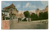648 - SLATINA, Olt, park, bank - old postcard - used - 1920 - TCV