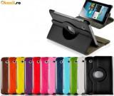 Husa rotativa 360 Samsung Galaxy Tab 2 Tab2 7.0 P3100 P3110 3113 + bonus, 7 inch