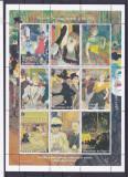 Pictura ,Toulouse Lautrec,Niger., Nestampilat