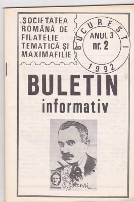 bnk fil Societatea romana de filatelie tematica si maximafilie an 3 nr 2 foto