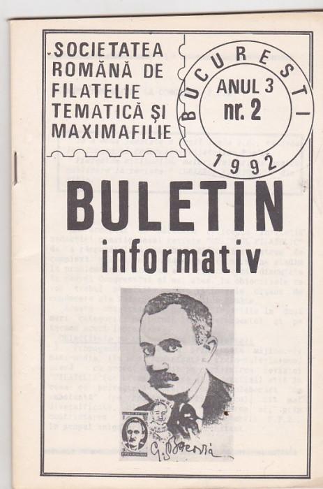 bnk fil Societatea romana de filatelie tematica si maximafilie an 3 nr 2 foto mare